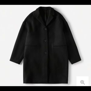 Everlane Wool Cocoon Coat